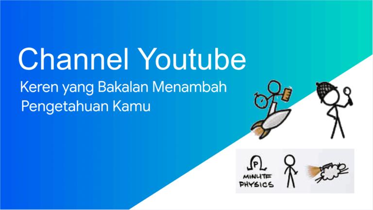 Channel youtube keren