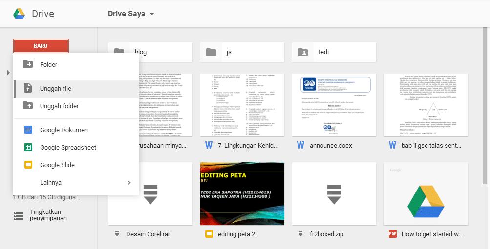 Translate pdf menggunakan google drive