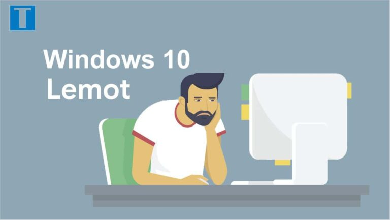windows 10 lemot
