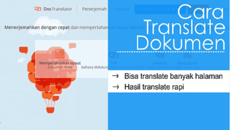 Translate banyak halaman