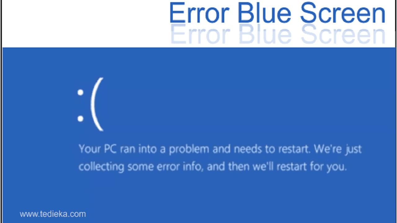 Error your pc ran into problem