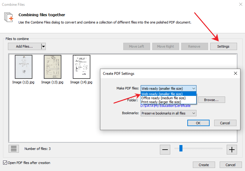 Cara mengubah jpg ke pdf dengan nitro