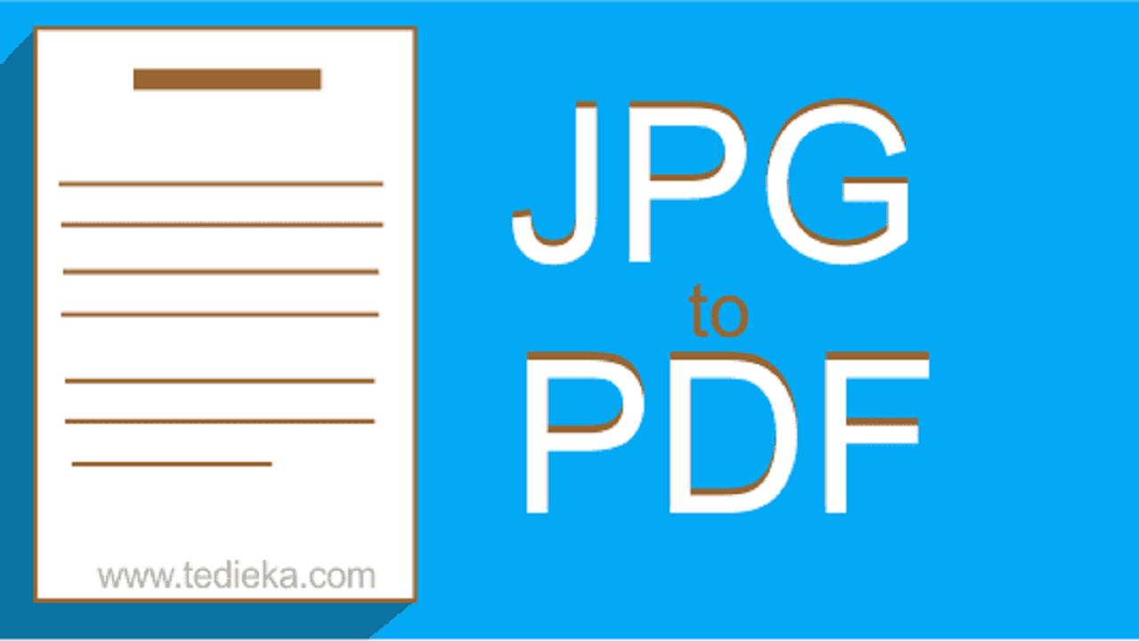 Mengubah gambar menjadi pdf