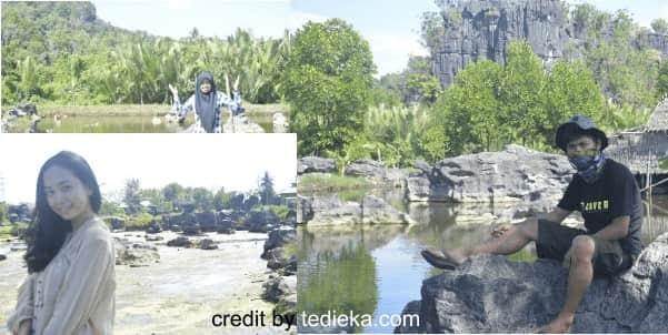 Taman hutan batu rammang-rammang