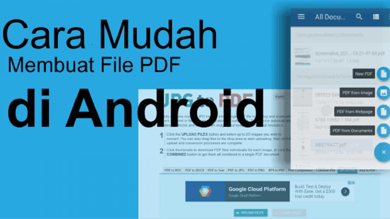 membuat pdf di android
