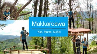 Puncak Makkaroewa, Tempat Wisata yang Lagi Ngetren di Maros Sulawesi Selatan