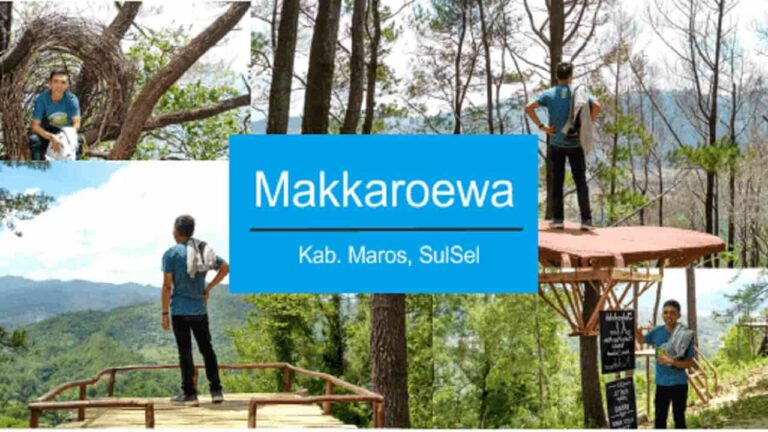 Wisata puncak makkaroewa
