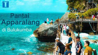 Pantai Apparalang yang Terkenal sebagai Miniatur Raja Ampat Versi Bulukumba
