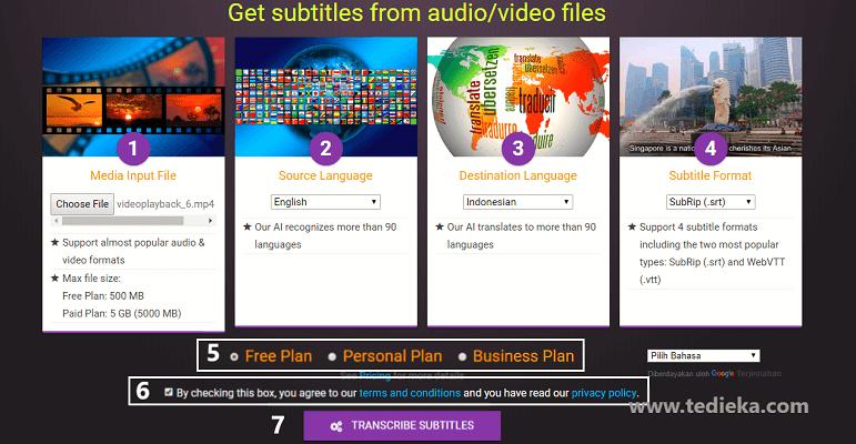 translate video di go subtitle