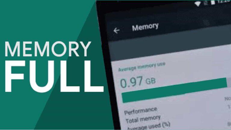 memori ponsel penuh