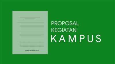 Contoh Proposal Kegiatan Kampus untuk Mendapatkan Sponsorship