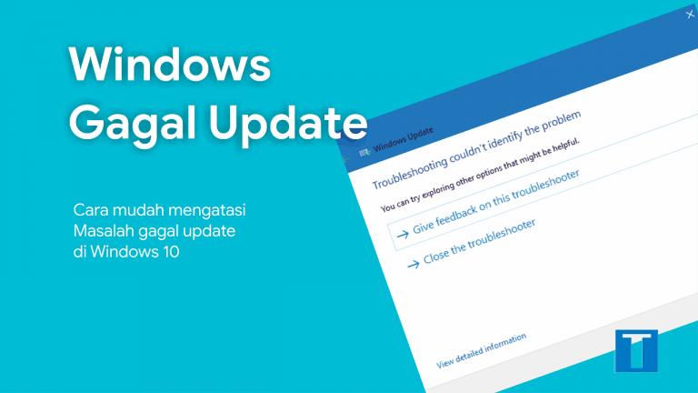 Gagal update di windows 10