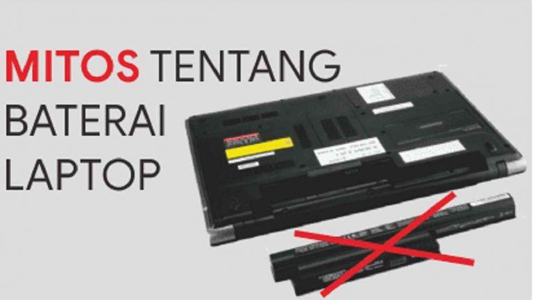 kesalahan dalam merawat baterai laptop