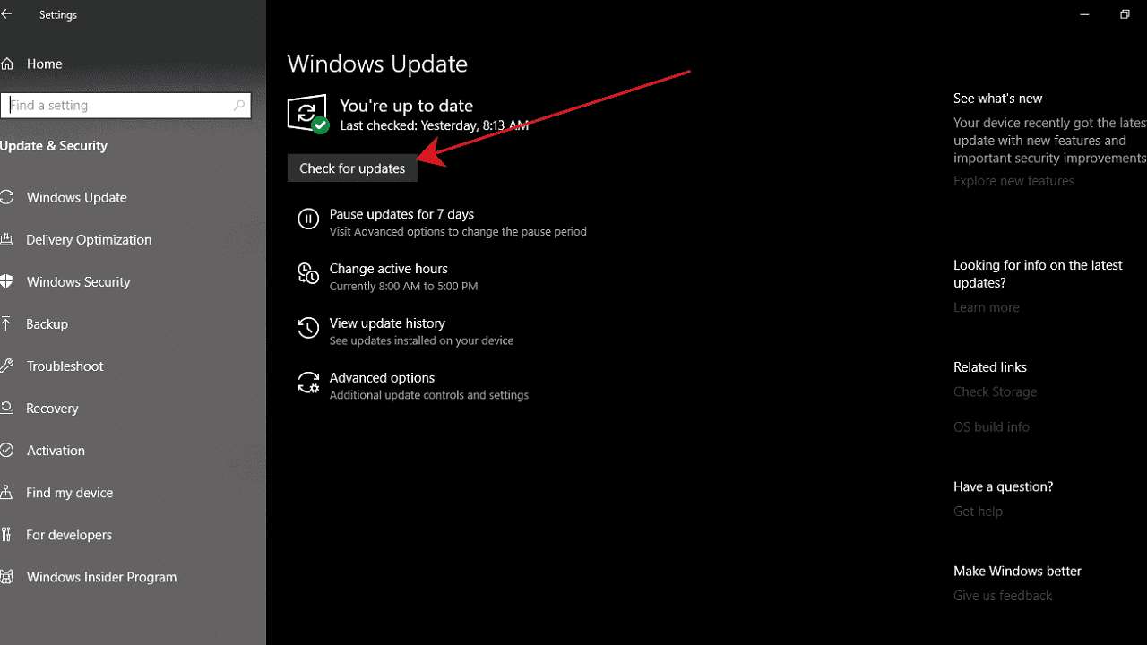 Update windows 10 otomatis