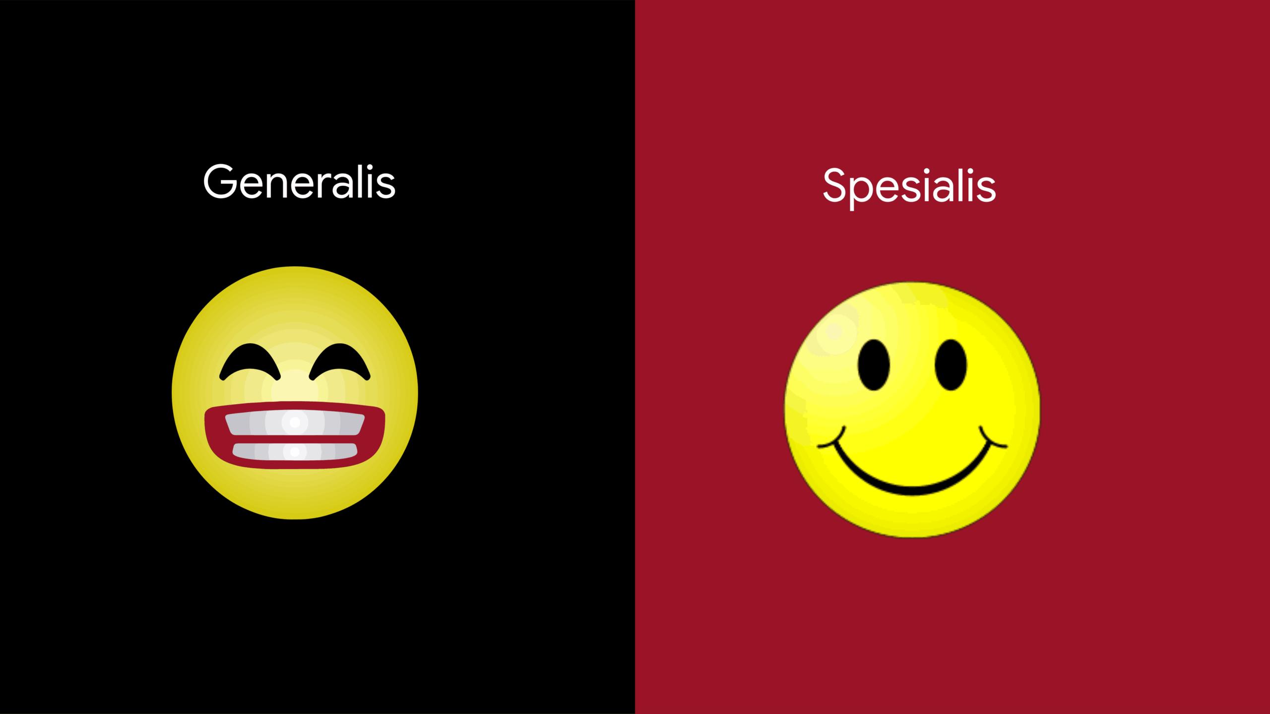 generalis dan spesialis