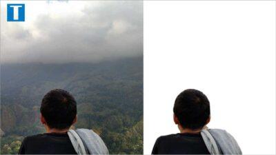 Cara Menghapus Background Foto Secara Otomatis (Sekali Klik)