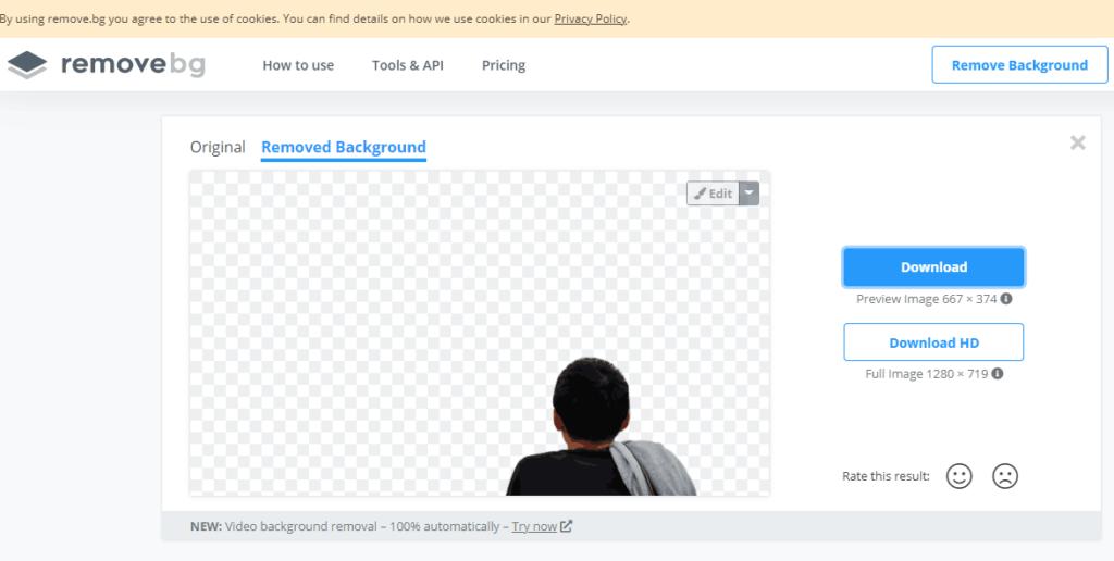 Cara Menghilangkan background foto dengan remove.bg