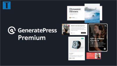 GeneratePress: Template WordPress Premium Terbaik Saat ini